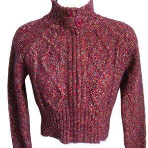 Jacob Jr Cropped Knit Vest Cardigan girl XXL
